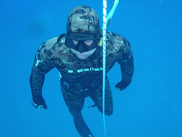 Freediving - Magic in Bleu